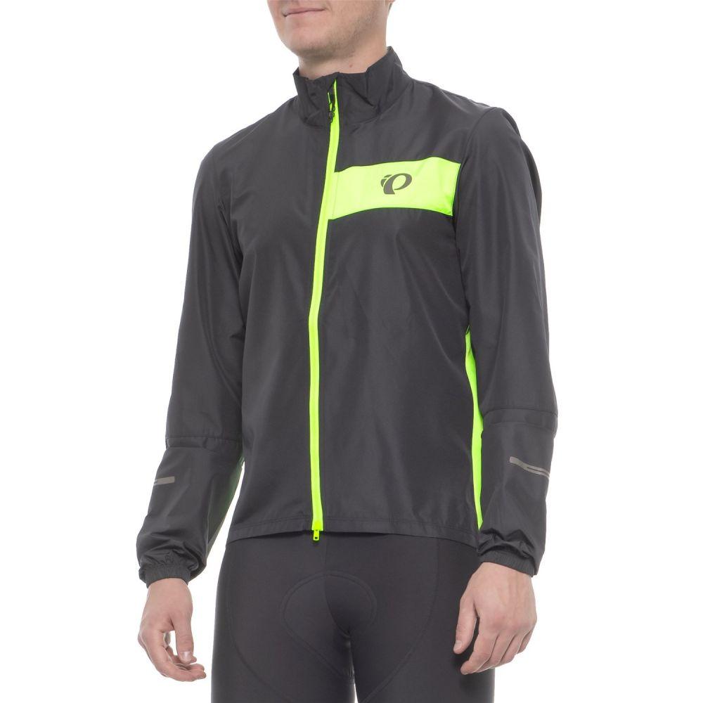 パールイズミ Pearl Izumi メンズ 自転車 アウター【SELECT Barrier Cycling Jacket】Black/Screaming Green