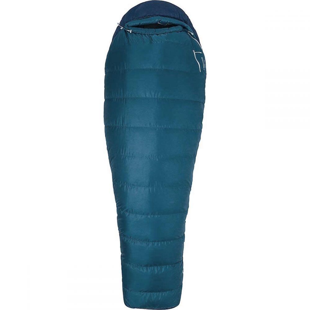 マーモット Marmot ユニセックス ハイキング・登山【20F Radium Down Sleeping Bag - Mummy, 650 Fill Power, Long】Briny Blue/Artic Navy