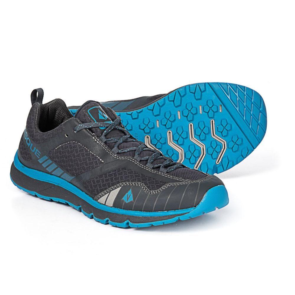 バスク Vasque メンズ ランニング・ウォーキング シューズ・靴【Vertical Velocity Trail Running Shoes】Ebony/Brilliant Blue