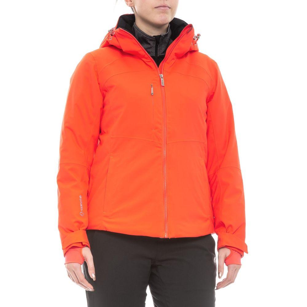 シンス Sunice レディース スキー・スノーボード アウター【Canada Madison Mountain Ski Jacket - Waterproof, Insulated】Neon Coral
