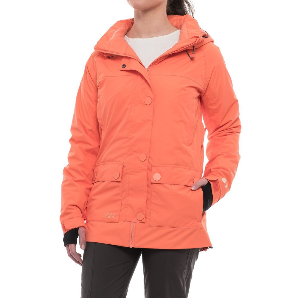 パウダールーム PWDR Room レディース スキー・スノーボード アウター【Rotation PrimaLoft Ski Jacket - Waterproof, Insulated】Melon Melange