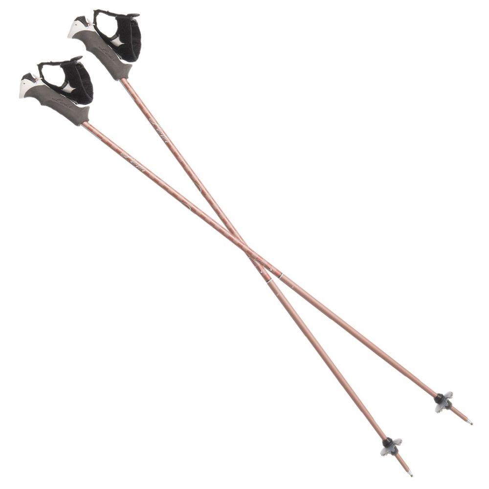 レキ LEKI レディース スキー・スノーボード【Trigger Series Artena S Alpine Ski Poles】Rose Gold