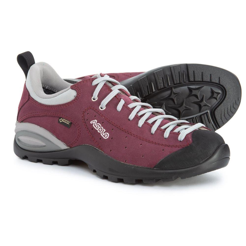 アゾロ Asolo レディース ハイキング・登山 シューズ・靴【Shiver GV Gore-Tex Hiking Shoes - Waterproof】Plum