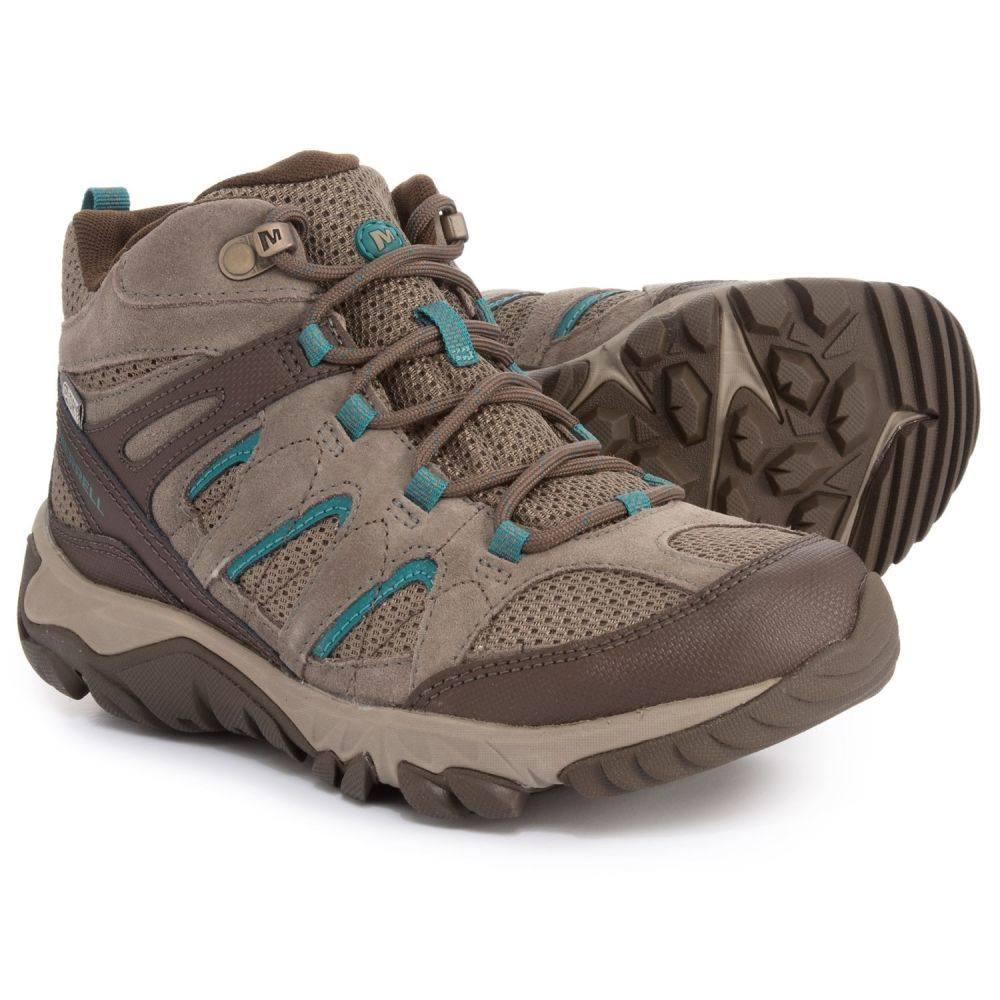 最新作 メレル Merrell レディース Boots ハイキング・登山 Hiking シューズ・靴【Outmost Mid メレル Ventilator Hiking Boots - Waterproof】Boulder, 着物ドレスレンタル 和COCORO:fc752de9 --- neuchi.xyz