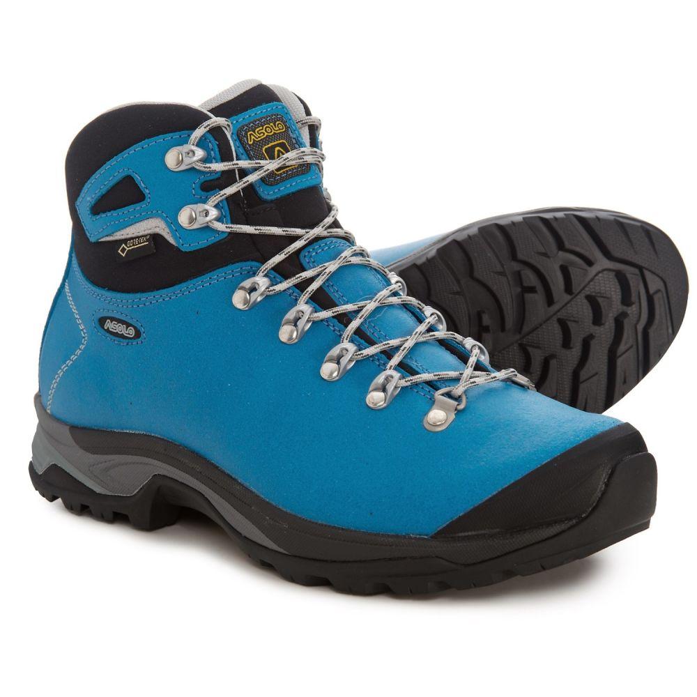 アゾロ Asolo レディース ハイキング・登山 シューズ・靴【Thyrus GV Gore-Tex Hiking Boots - Waterproof】Blue Sea/Black