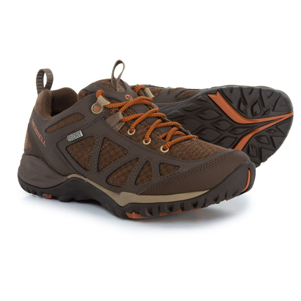 メレル Merrell レディース ハイキング・登山 シューズ・靴【Siren Sport Q2 Hiking Shoes - Waterproof】Slate Black