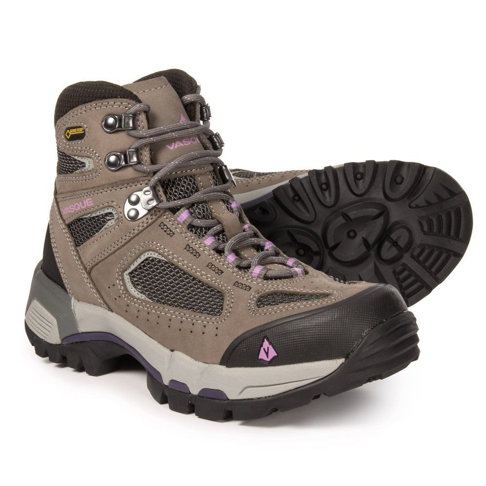 バスク Vasque レディース ハイキング・登山 シューズ・靴【Breeze 2.0 Gore-Tex Hiking Boots - Waterproof】Gargoyle/African Violet