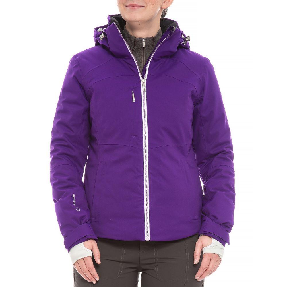 シンス Sunice レディース スキー・スノーボード アウター【Madison Mountain Ski Jacket - Waterproof, Insulated】Amethyst