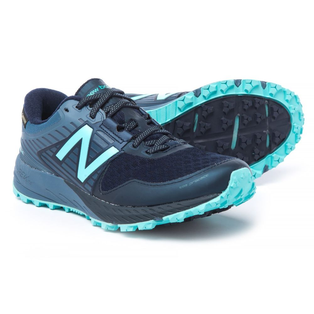 ニューバランス New Balance レディース ランニング・ウォーキング シューズ・靴【910v4 Gore-Tex Trail Running Shoes - Waterproof】Pigment/Porcelain Blue