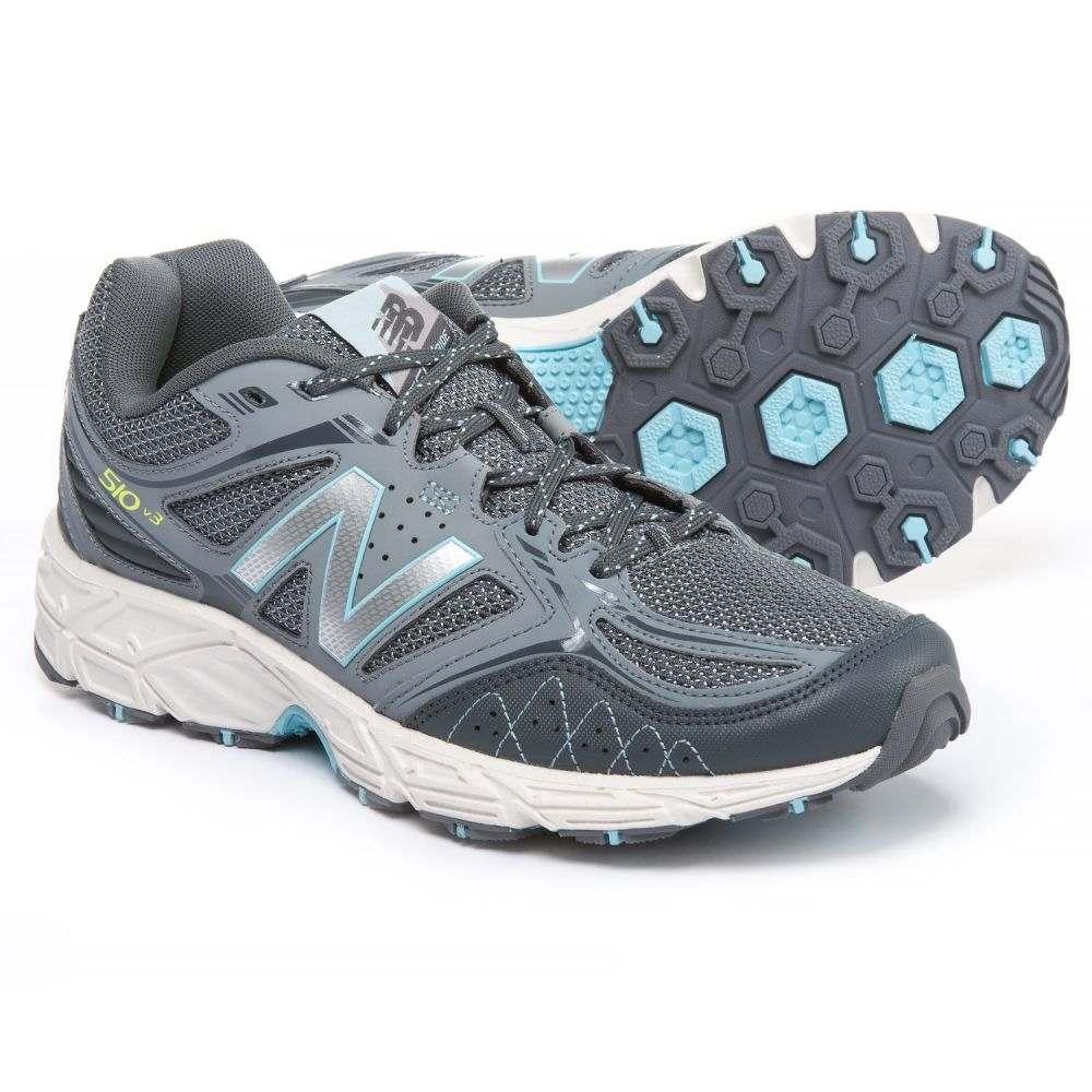 ニューバランス New Balance レディース ランニング・ウォーキング シューズ・靴【510V3 Trail Running Shoes】Grey/Fresh Water/Toxic