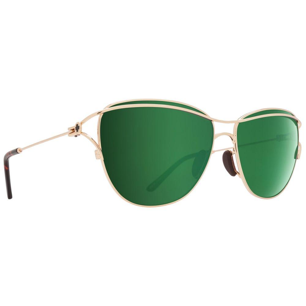 スパイ Spy Optics レディース メガネ・サングラス【Marina Sunglasses】Gold/Gold/Happy Bronze/Emerald Spectra