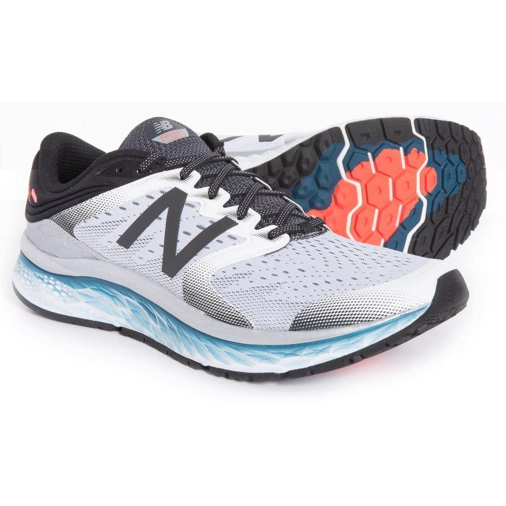 ニューバランス New Balance メンズ ランニング・ウォーキング シューズ・靴【1080 V8 Running Shoes】White/Black/North Sea
