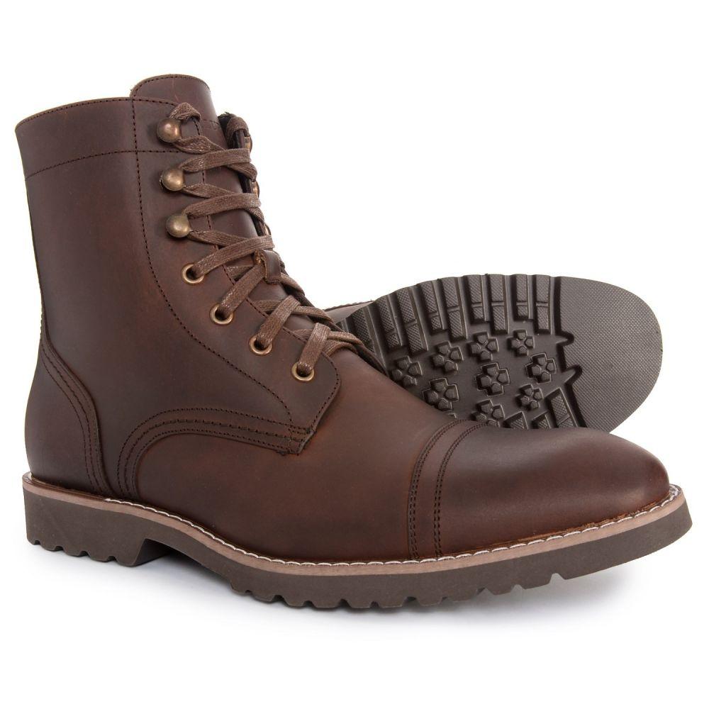 テルライド Telluride メンズ シューズ・靴 ブーツ【Cap-Toe Boots - Leather】Brown