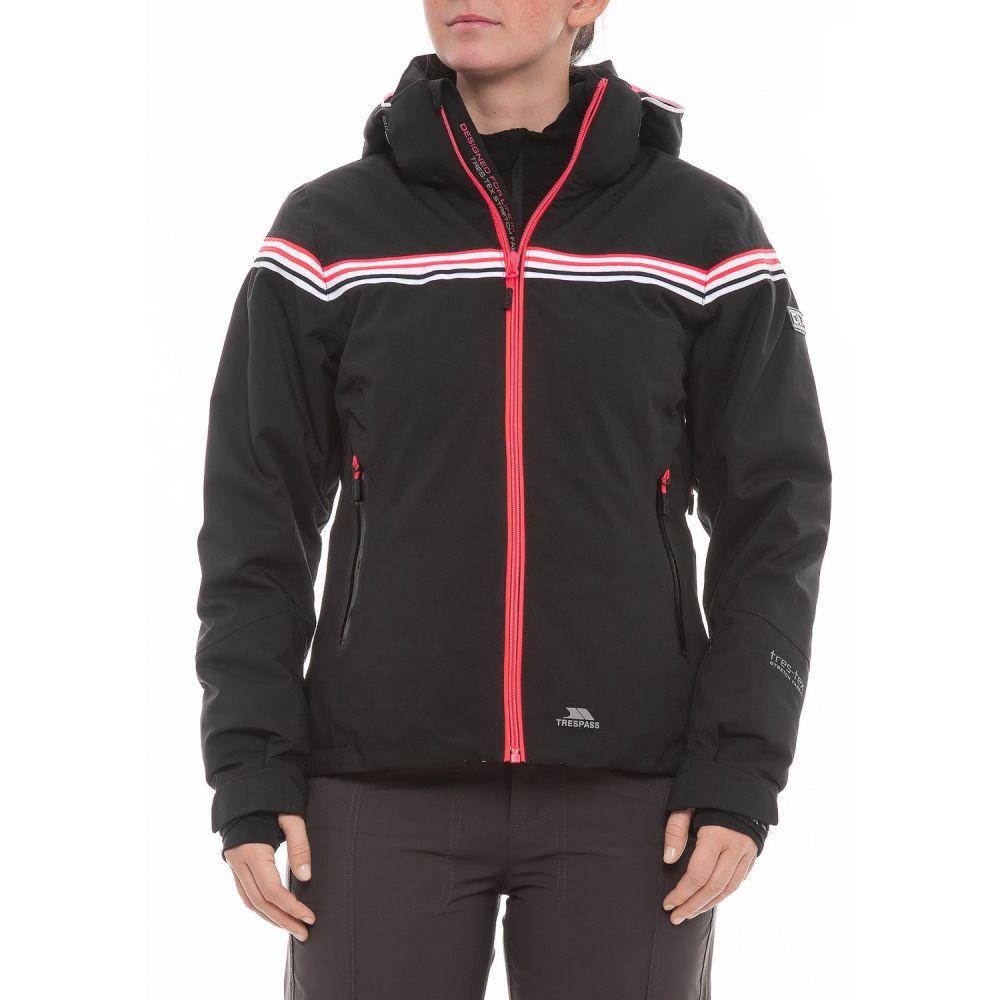 トレスパス Trespass レディース スキー・スノーボード アウター【Clarity DLX Ski Jacket - Waterproof, Insulated】Black