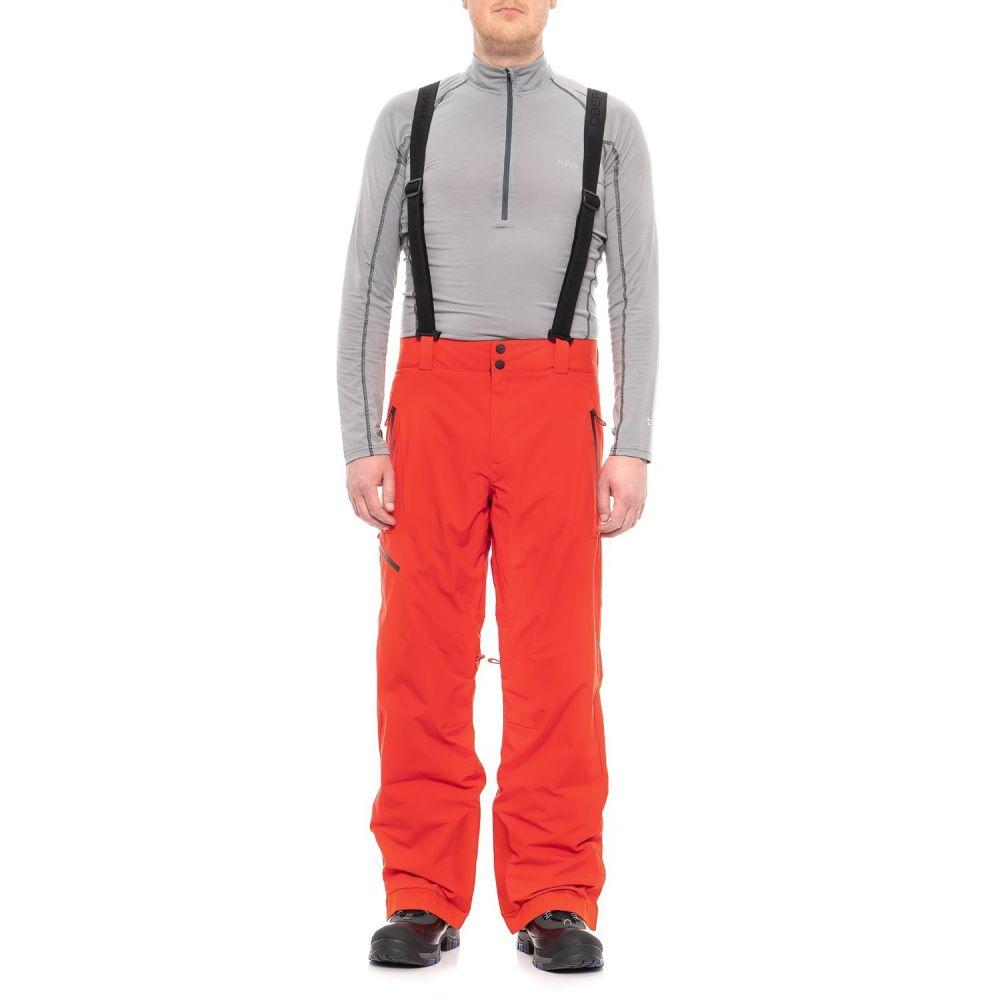 オバマイヤー Obermeyer メンズ スキー・スノーボード ボトムス・パンツ【Force Suspender Ski Pants - Waterproof, Insulated】Red