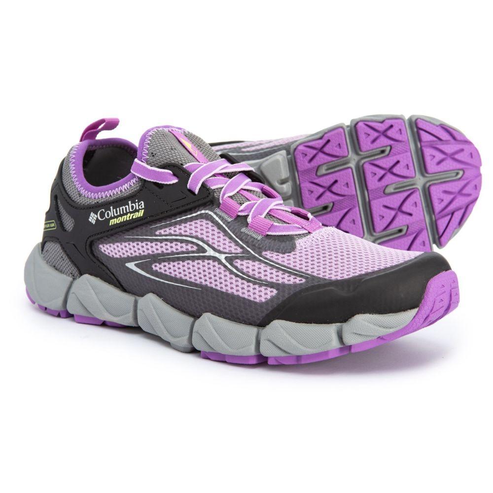 モントレイル Montrail レディース ランニング・ウォーキング シューズ・靴【Fluidflex X.S.R. Trail Running Shoes】Phantom Purple/Napa Green
