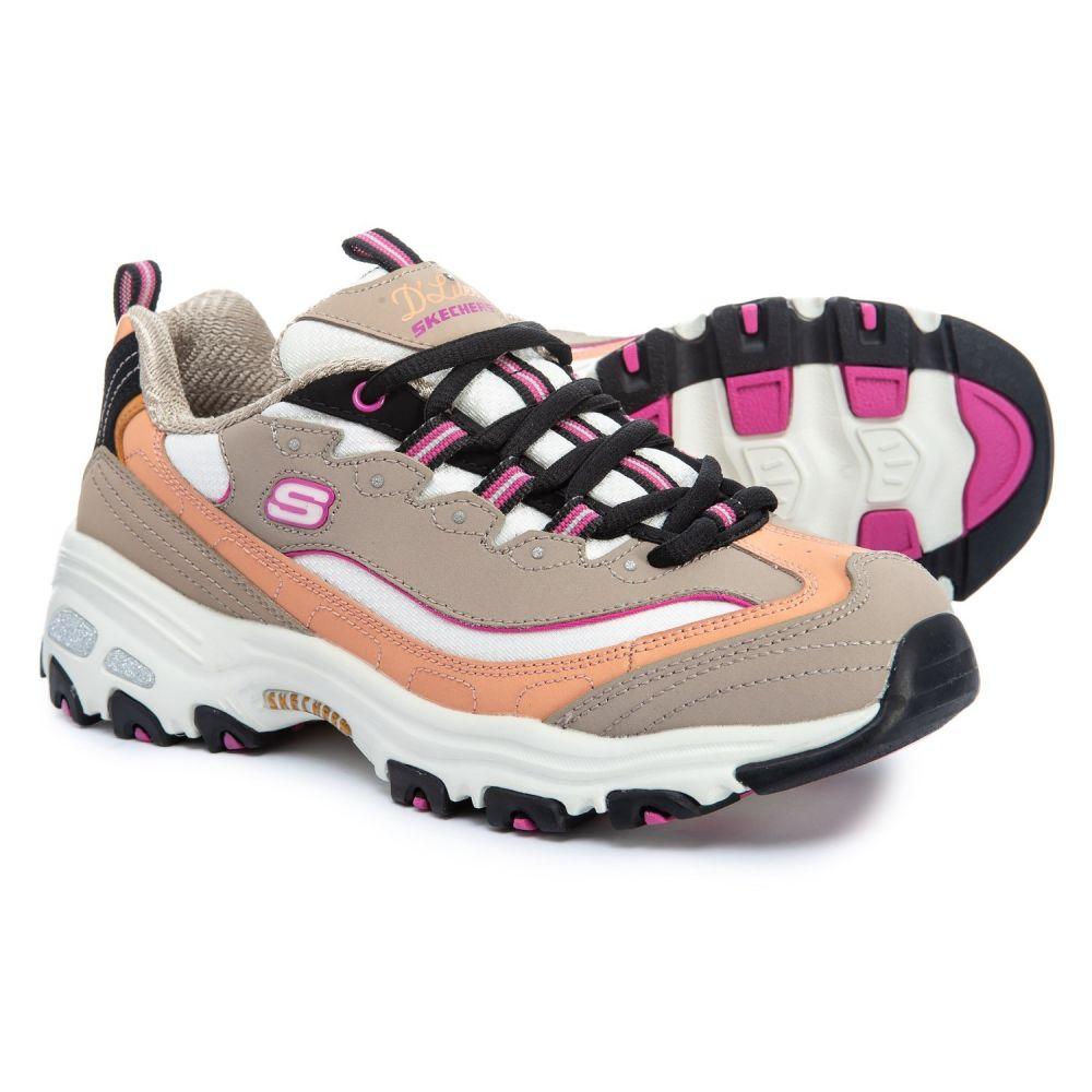 スケッチャーズ Skechers レディース ランニング・ウォーキング シューズ・靴【DLites Cool Change Walking Shoes】Taupe/Multi