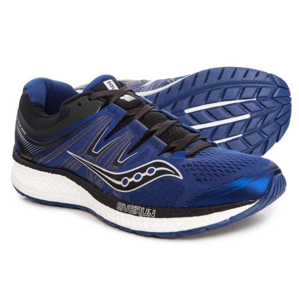 サッカニー Saucony メンズ ランニング・ウォーキング シューズ・靴【Hurricane ISO 4 Running Shoes】Blue/Black