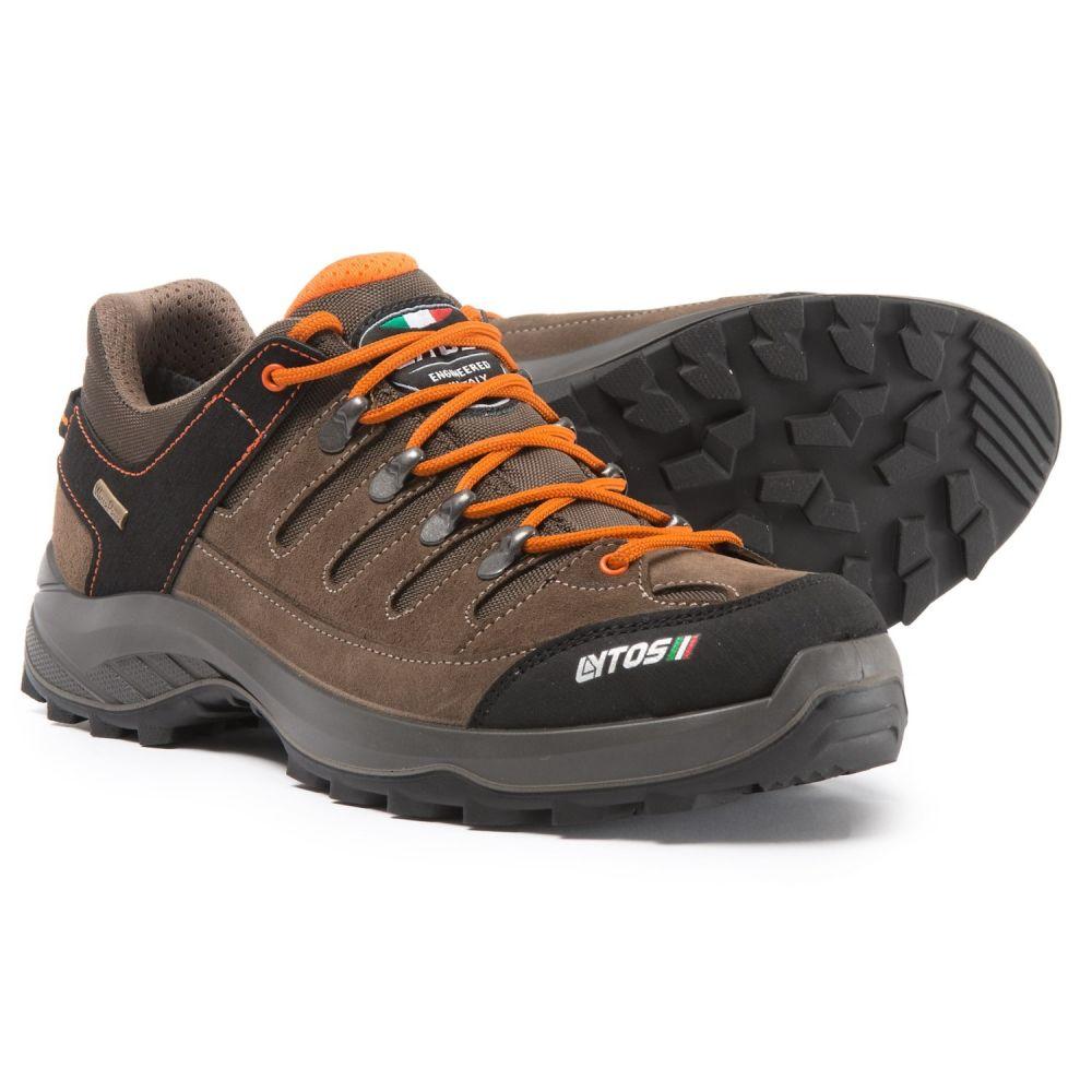 レイトス Lytos メンズ ハイキング・登山 シューズ・靴【Made in Europe Onex Jab Hiking Shoes - Waterproof】Brown/Orange