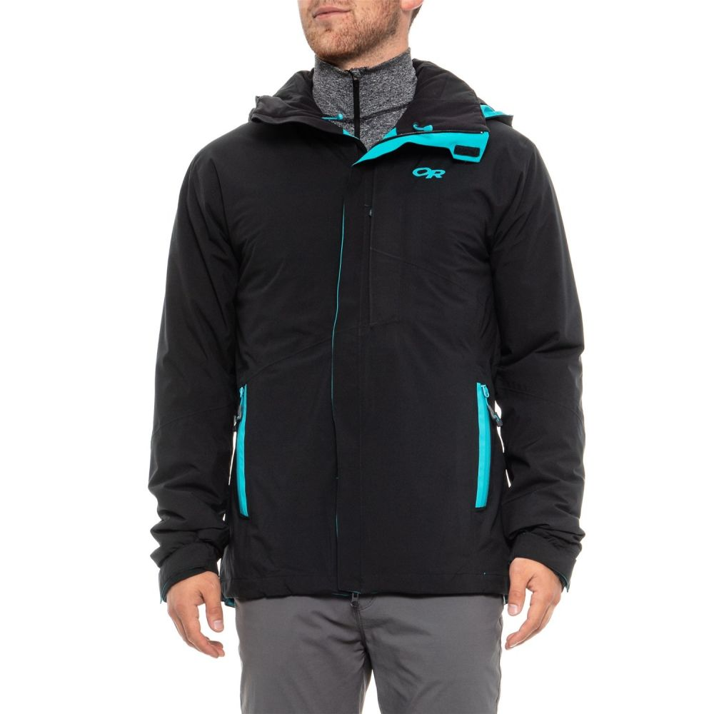 高品質 アウトドアリサーチ メンズ Outdoor Research Ski メンズ Research スキー・スノーボード アウター【Offchute Ski Jacket - Waterproof, Insulated】Black/Tahoe, 紙アラカルトe紙季彩:86fcddf9 --- clftranspo.dominiotemporario.com