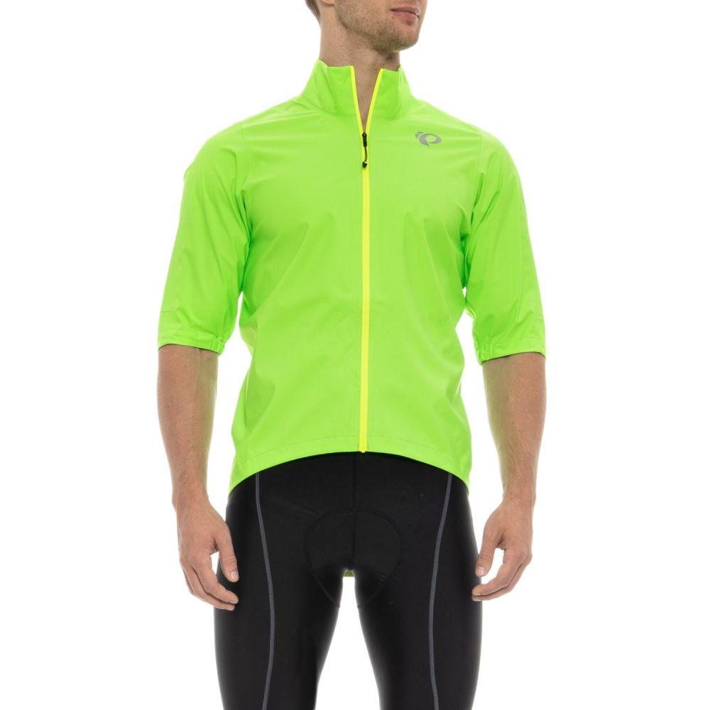 パールイズミ Pearl Izumi メンズ 自転車 アウター【PRO Cycling Rain Jacket - Short Sleeve】Screaming Green