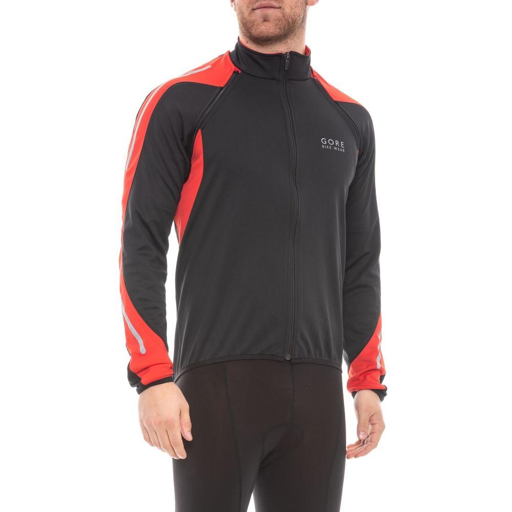 ゴアバイクウェア Gore Bike Wear メンズ 自転車 アウター【Phantom 2.0 Windstopper SO Cycling Jacket】Black/Red