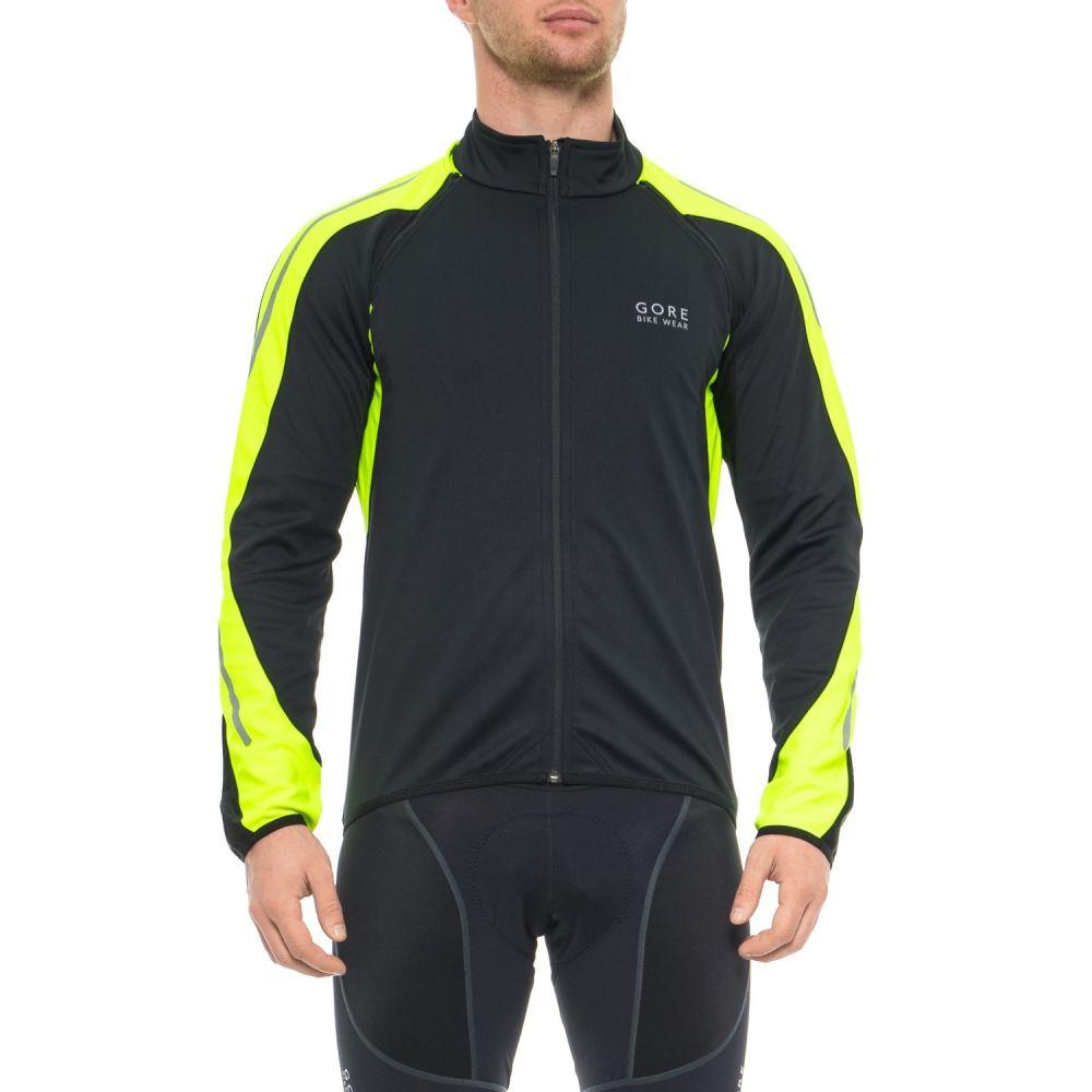 ゴアバイクウェア Gore Bike Wear メンズ 自転車 アウター【Phantom 2.0 Windstopper SO Cycling Jacket】Black/Neon Yellow