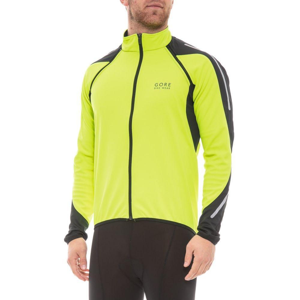 ゴアバイクウェア Gore Bike Wear メンズ 自転車 アウター【Phantom 2.0 Windstopper SO Cycling Jacket】Neon Yellow/Black