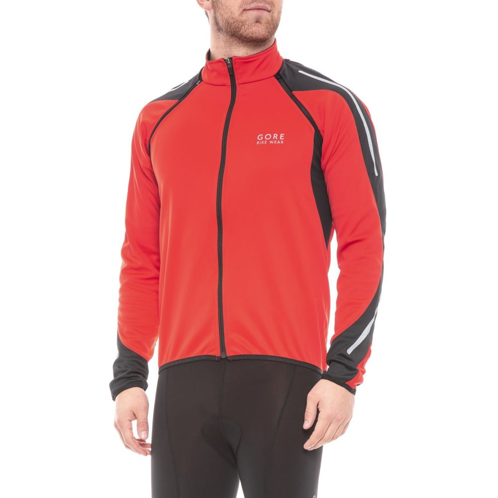 ゴアバイクウェア Gore Bike Wear メンズ 自転車 アウター【Phantom 2.0 Windstopper SO Cycling Jacket】Red/Black