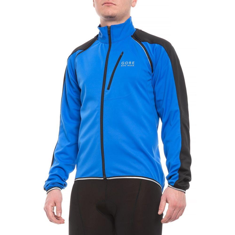 ゴアバイクウェア Gore Bike Wear メンズ 自転車 アウター【Phantom Plus Windstopper Zip-Off Cycling Jacket】Brilliant Blue/Black