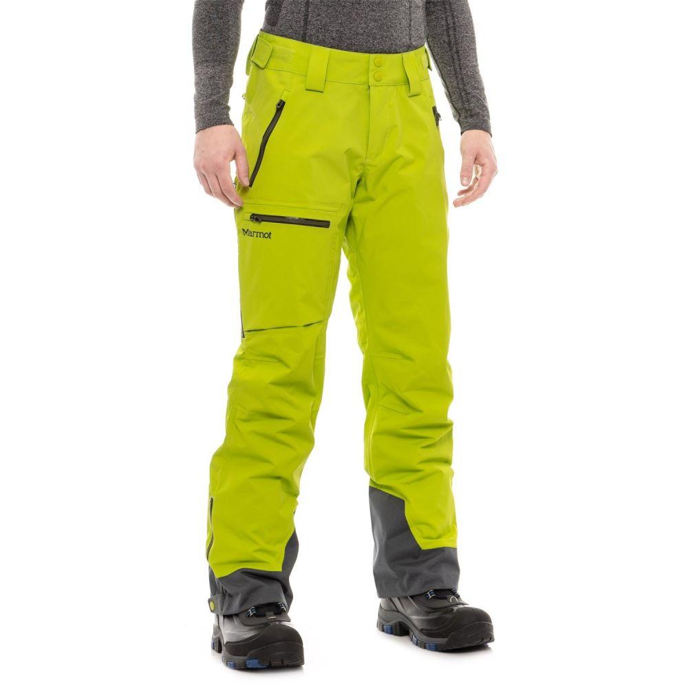 マーモット Marmot メンズ スキー・スノーボード ボトムス・パンツ【Refuge Ski Pants - Waterproof】Macaw Green