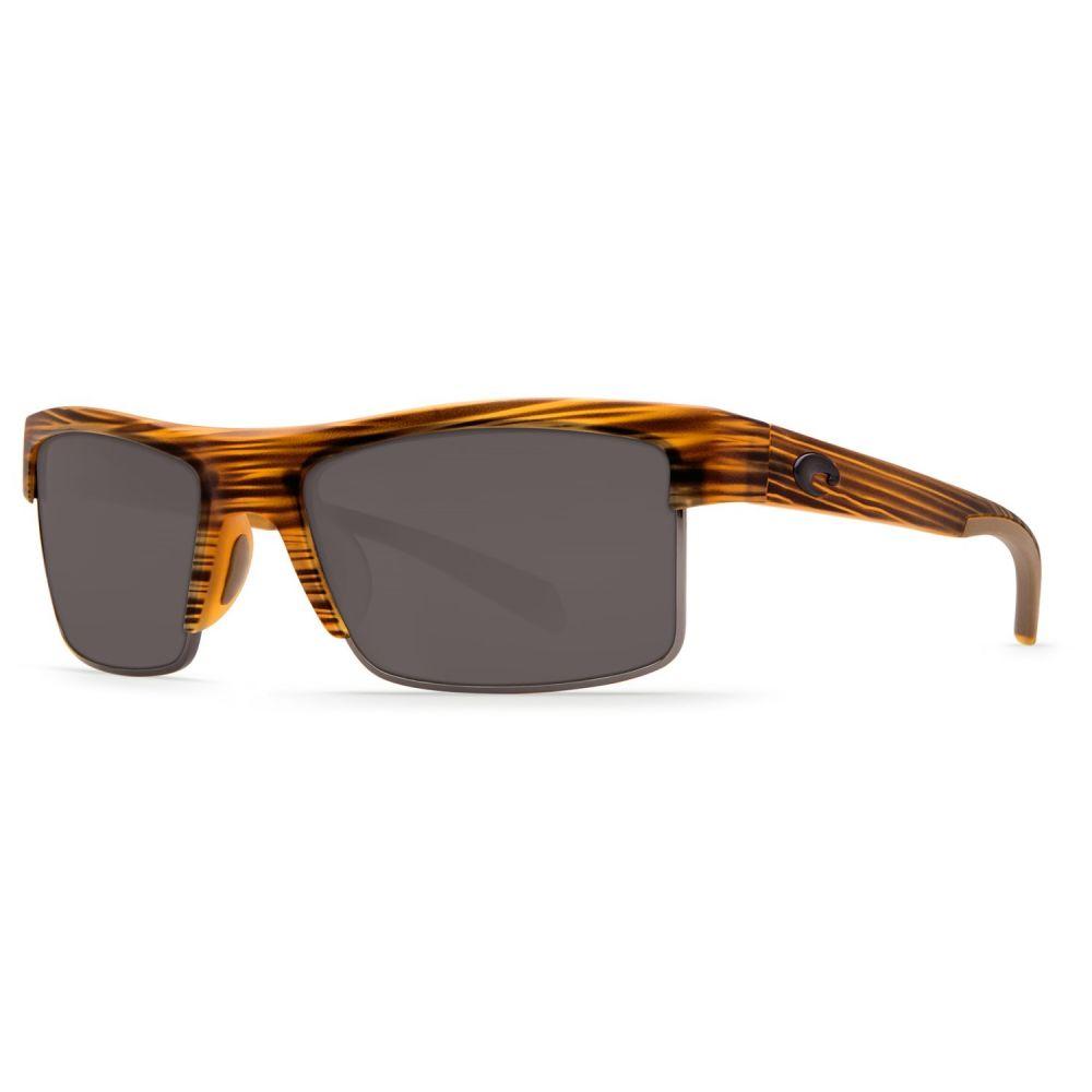 コスタ Costa メンズ メガネ・サングラス【South Sea Sunglasses - Polarized 580P Lenses】Matte Teak/Gunmetal Grey