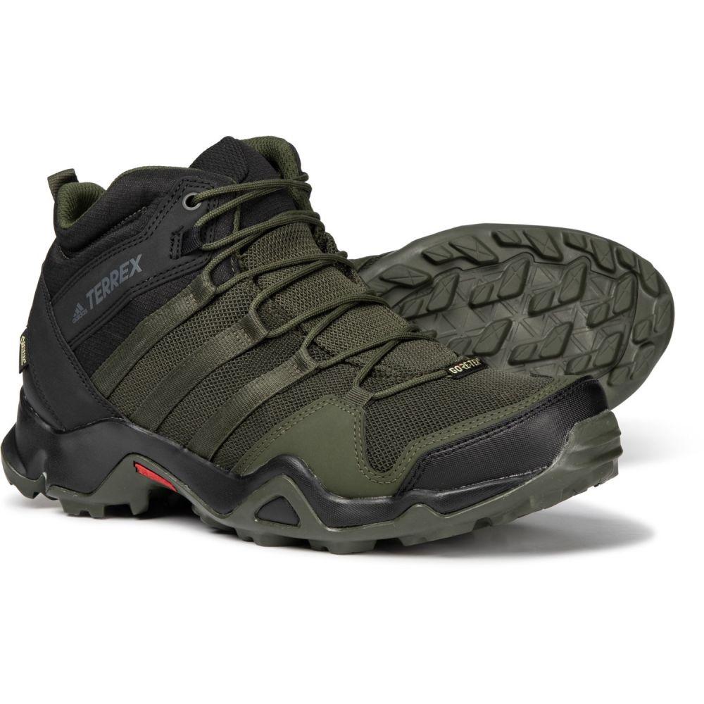アディダス adidas メンズ ハイキング・登山 シューズ・靴【Terrex AX2R Mid Gore-Tex Hiking Boots - Waterproof】Night Cargo/Night Cargo/Black