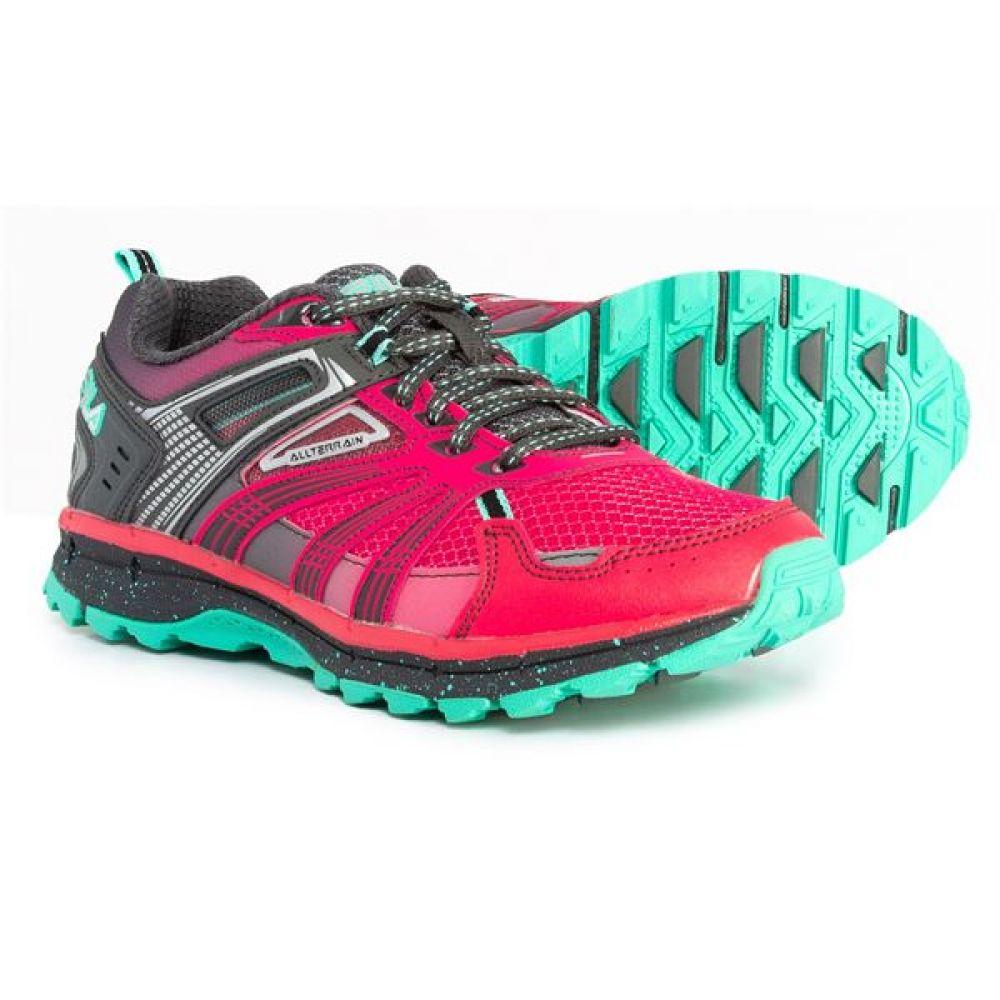 フィラ Fila レディース ランニング・ウォーキング シューズ・靴【TKO-TR 4.0 Trail Running Shoes】Sparkling Cosmo/Dark Shadow/Cockatoo