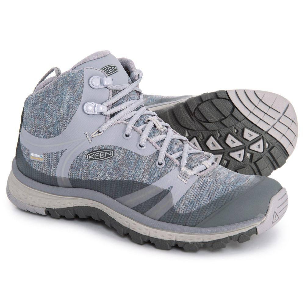 キーン Keen レディース ハイキング・登山 シューズ・靴【Terradora Mid Hiking Boots - Waterproof】Dapple Gray/Vapor