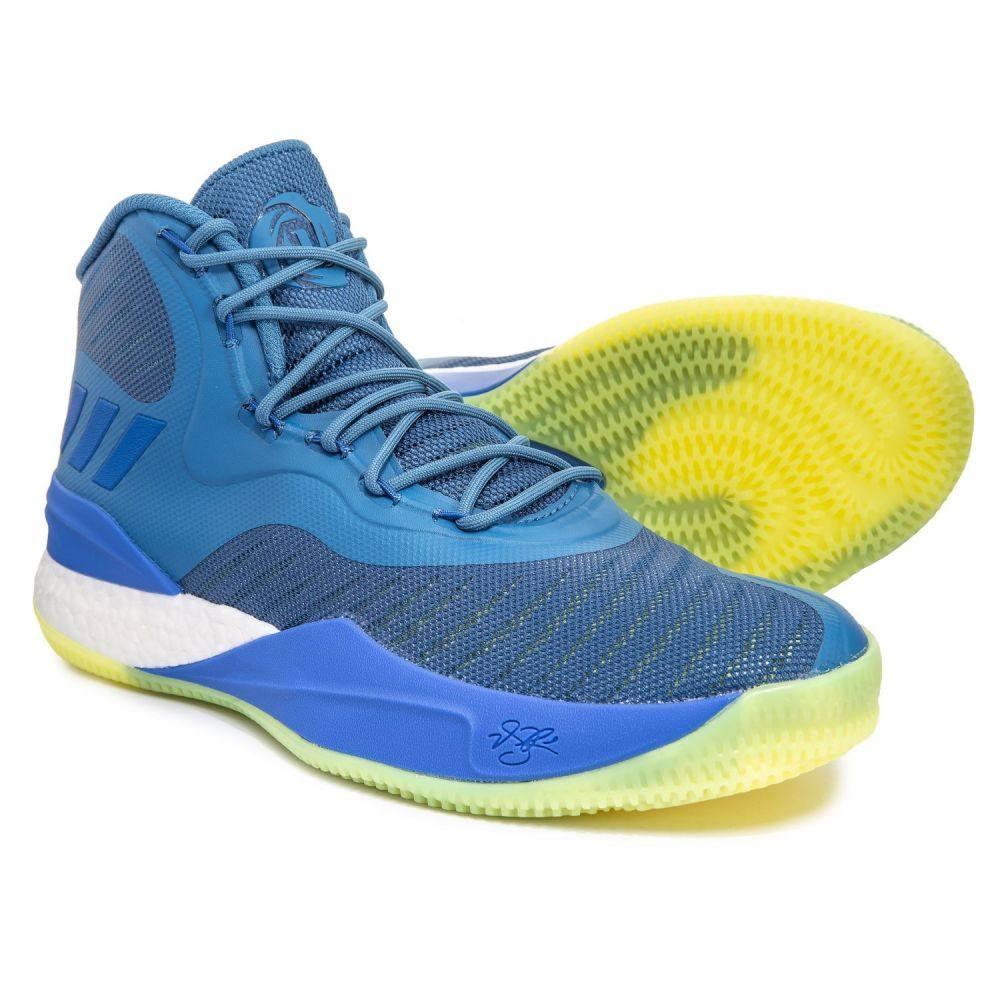 アディダス adidas メンズ バスケットボール シューズ・靴【Derrick Rose 8 Basketball Shoes】Trace Royal/Hi-Res Blue/Light Flash Yellow