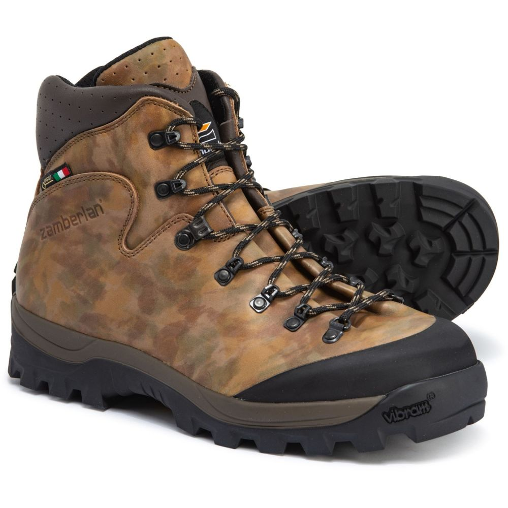 ザンバラン Zamberlan メンズ シューズ・靴 ブーツ【Made in Italy Haka Gore-Tex RR Hunting Boots - Waterproof】Camoflauge