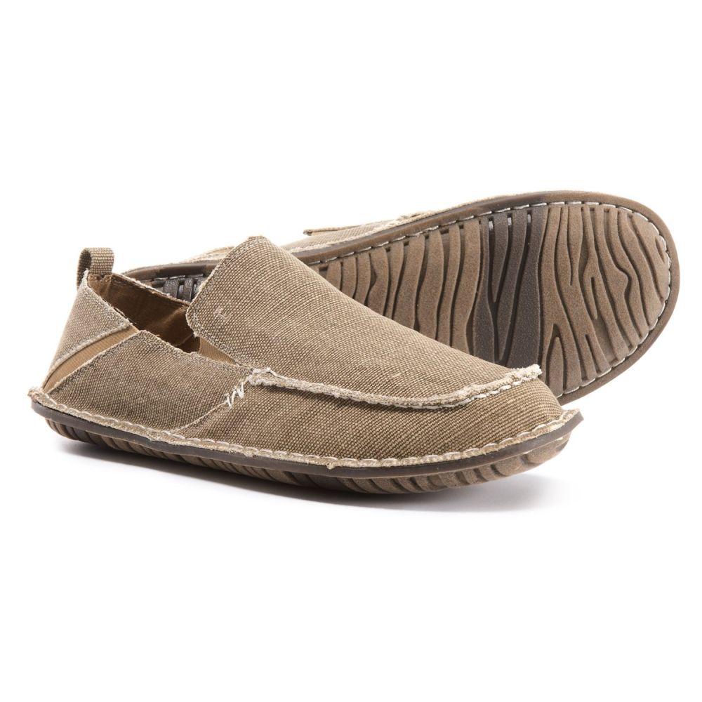 クレボ Crevo メンズ シューズ・靴【Rasta Shoes】Tan Canvas