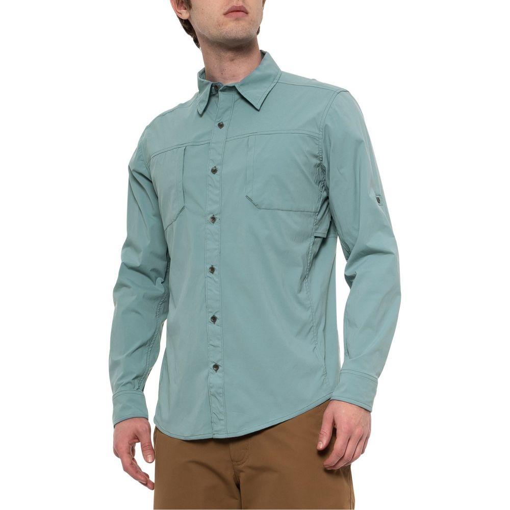 マーモット Marmot メンズ トップス【Ontri Shirt - UPF 50, Long Sleeve】Blue Granite