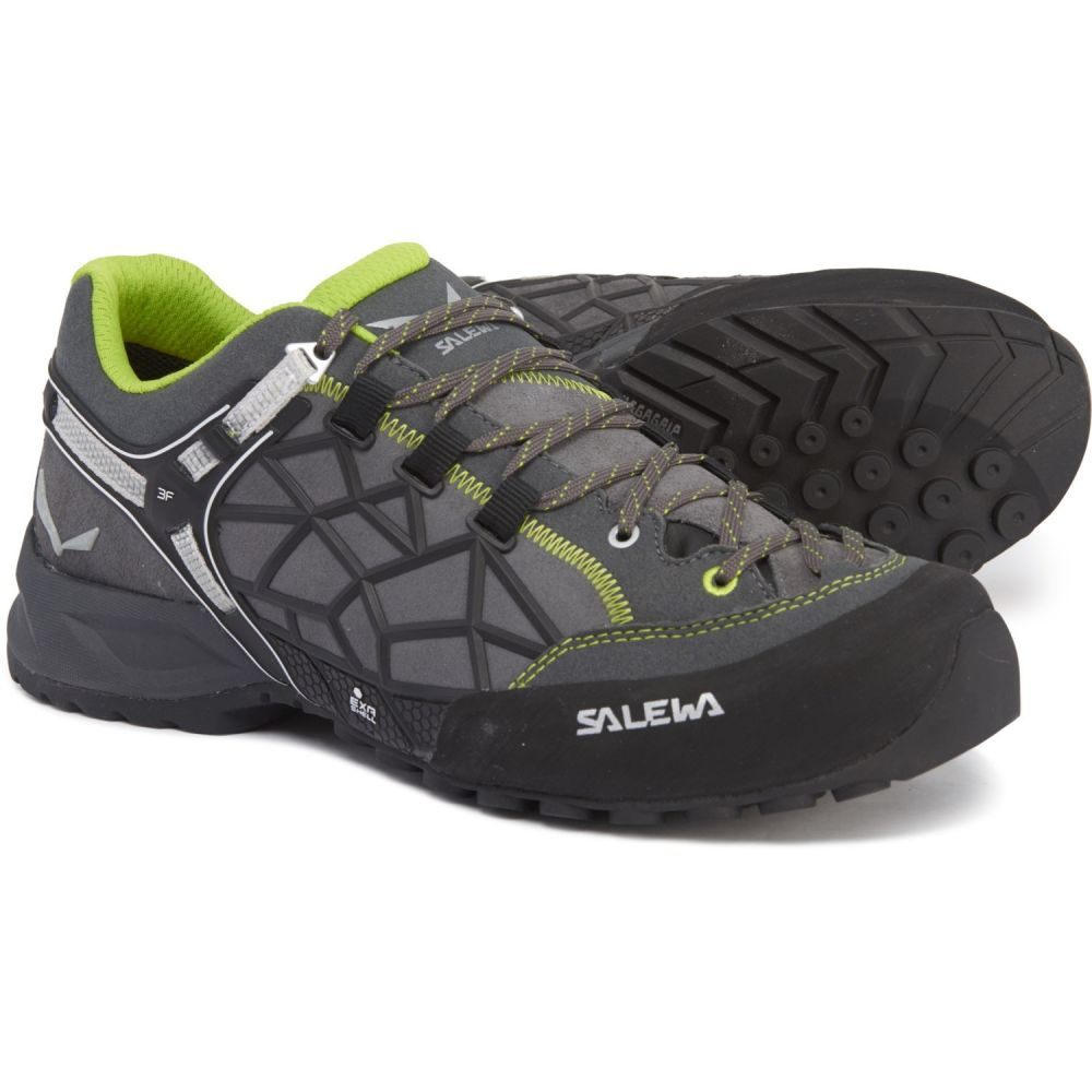 サレワ Salewa メンズ ハイキング・登山 シューズ・靴【Wildfire Pro Hiking Shoes】Carbon/Green
