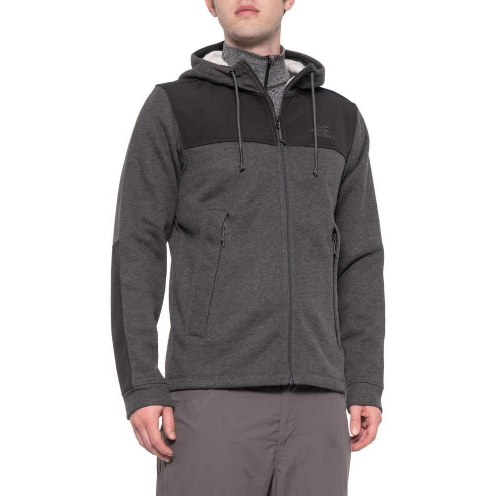 YUNY Mens Hood Zip-Front Long Sleeve Relaxed Fashion Jacket Sweatshirts Black XS
