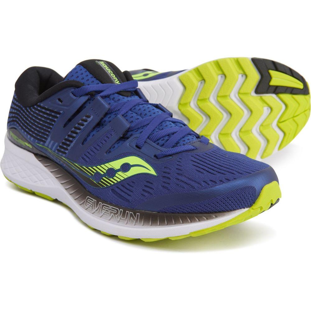 サッカニー Saucony メンズ ランニング・ウォーキング シューズ・靴【Ride ISO Running Shoes】Navy/Citron