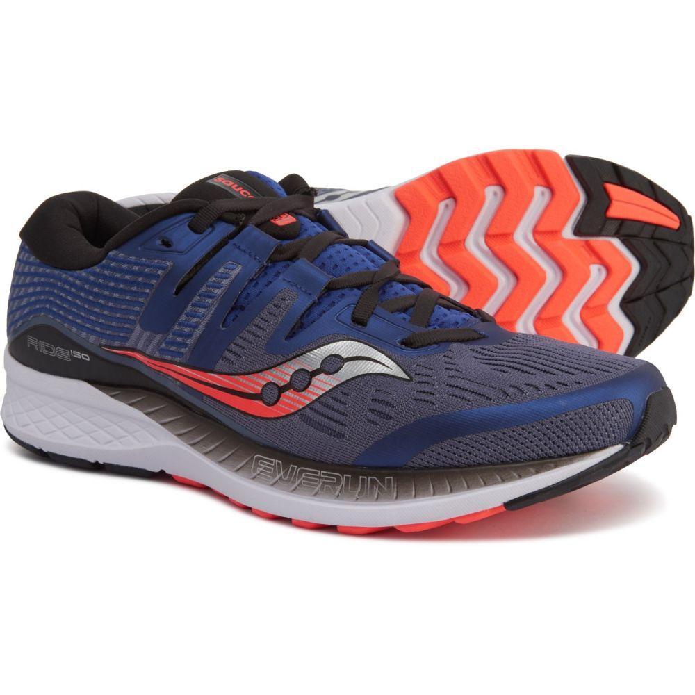 サッカニー Saucony メンズ ランニング・ウォーキング シューズ・靴【Ride ISO Running Shoes】Grey/Blue/Vizi Red