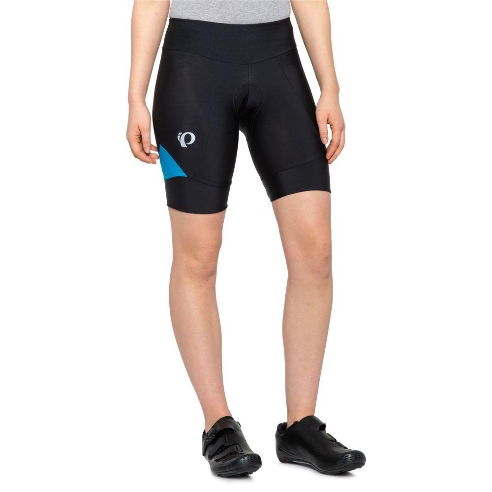 パールイズミ Pearl Izumi レディース 自転車 ボトムス・パンツ【SELECT Pursuit Bike Shorts - UPF 50+】Black/Atomic Blue