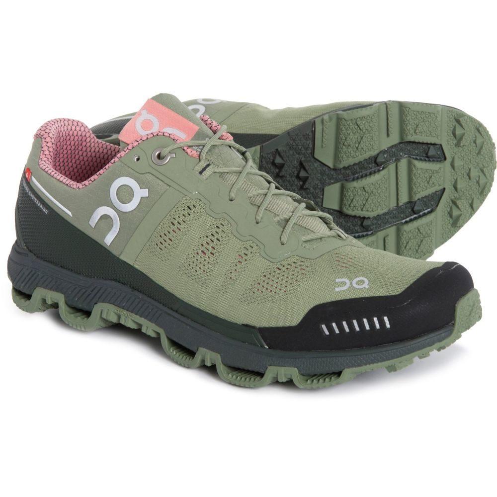 オン On レディース ランニング・ウォーキング シューズ・靴【Cloudventure Trail Running Shoes】Reseda/Rose