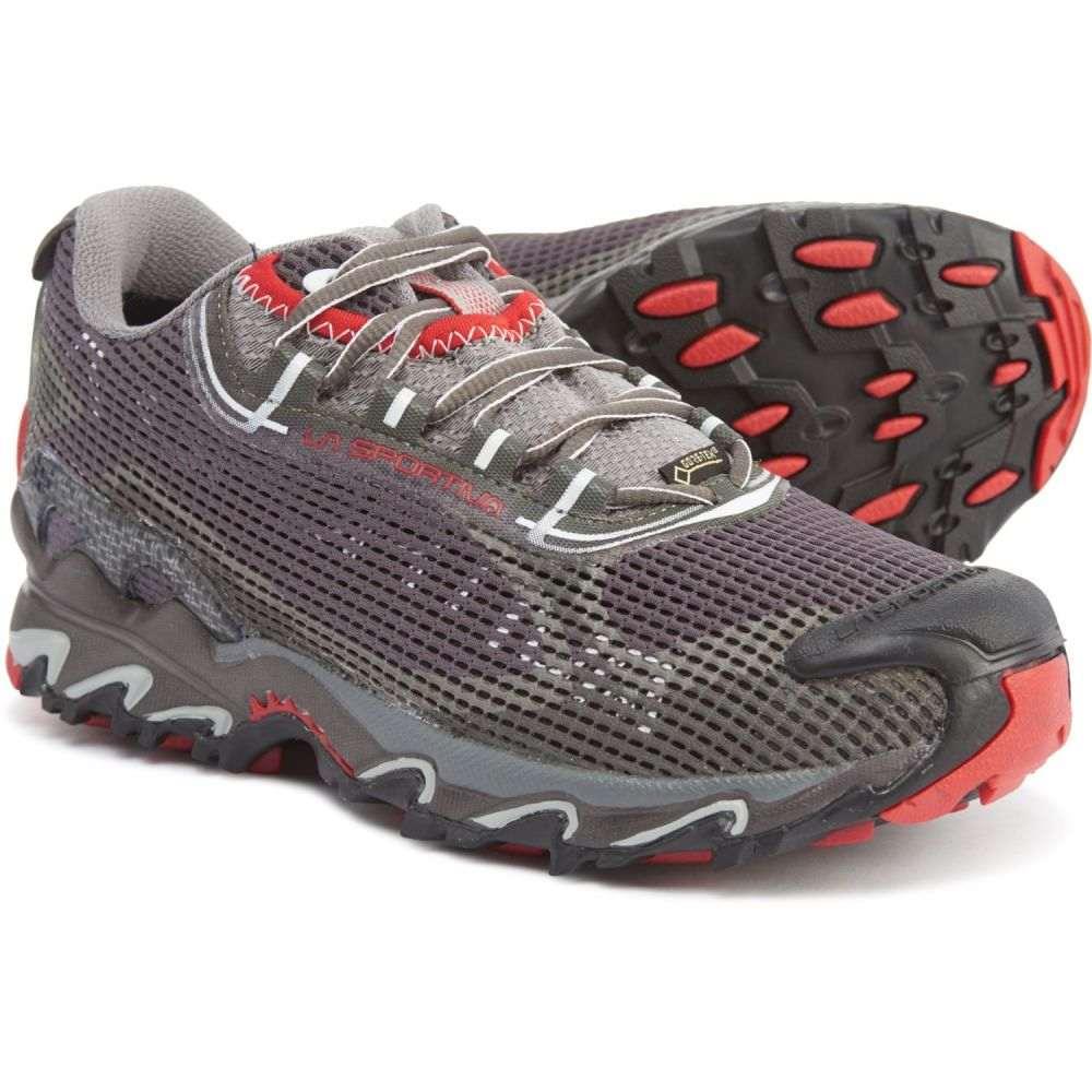 ラスポルティバ La Sportiva レディース ランニング・ウォーキング シューズ・靴【Wildcat 2.0 Gore-Tex Trail Running Shoes - Waterproof】Grey/Red