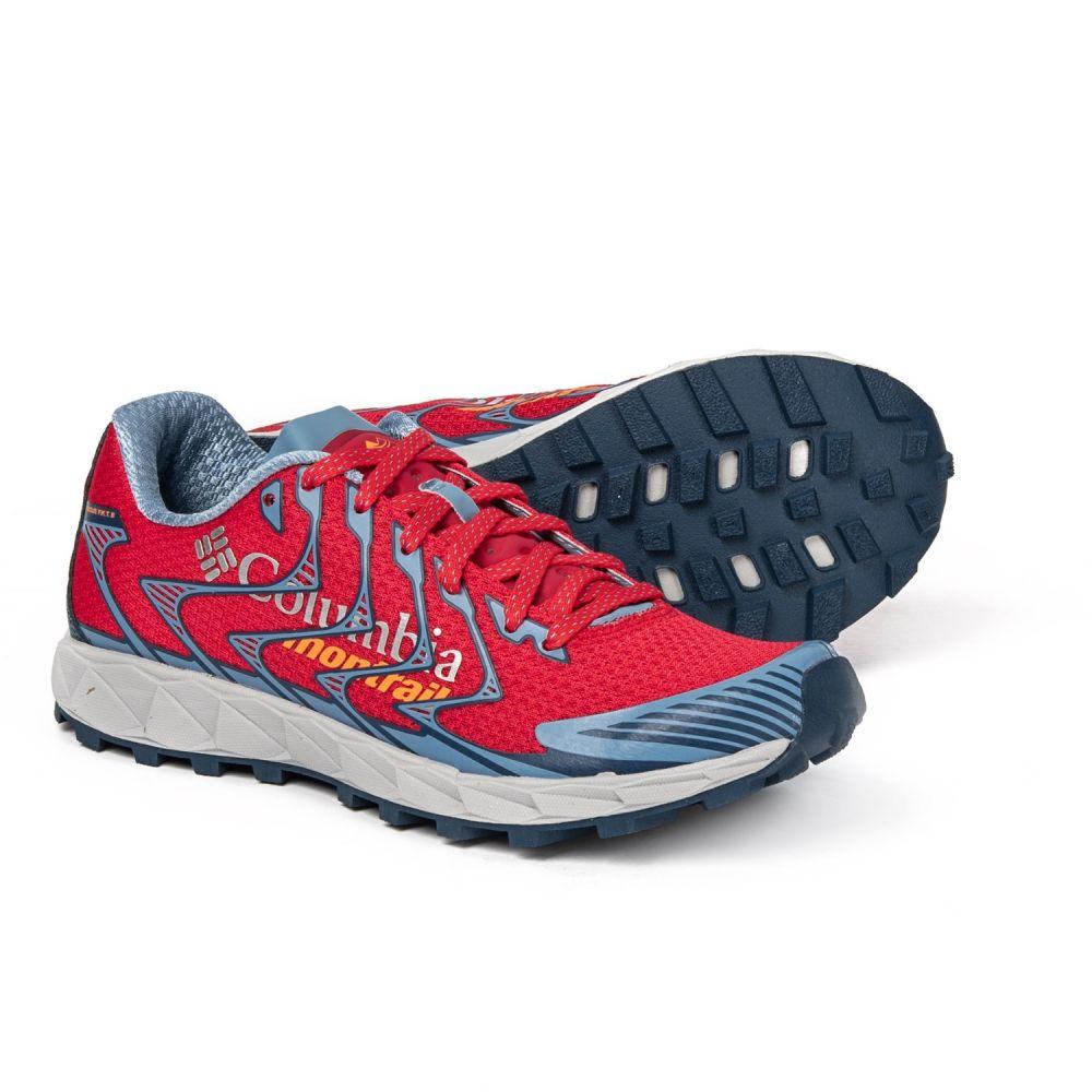 モントレイル Montrail レディース ランニング・ウォーキング シューズ・靴【Rogue F.K.T. II Trail Running Shoes】Red Camellia/Jupiter