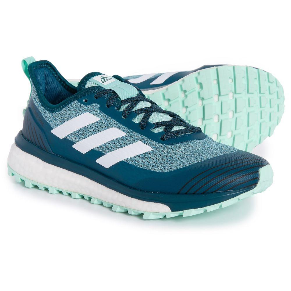 アディダス adidas レディース ランニング・ウォーキング シューズ・靴【Response Trail Running Shoes】Black/White/Real Teal