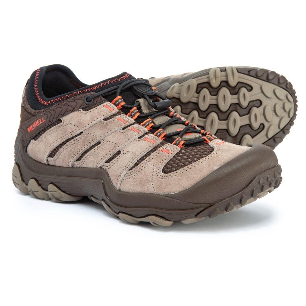 メレル Merrell レディース ハイキング・登山 シューズ・靴【Chameleon 7 Limit Stretch Hiking Shoes - Suede】Brindle