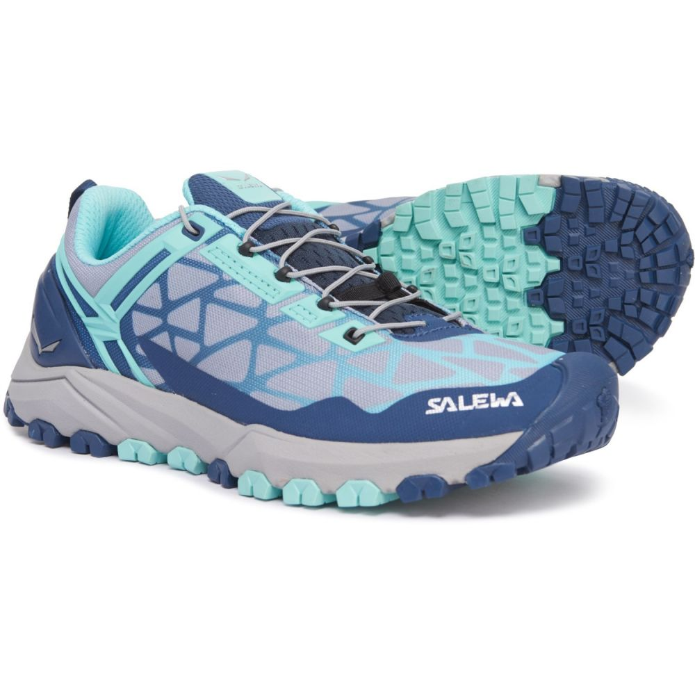 サレワ Salewa レディース ランニング・ウォーキング シューズ・靴【Multi Track Trail Running Shoes】Dark Denim/Aruba Blue